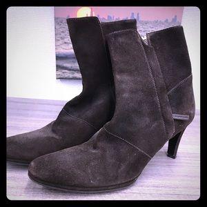Helmut Lang designer boot - chocolate brown